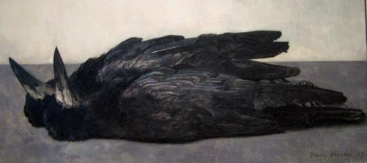 Floris Verster: Two dead rooks, 1926