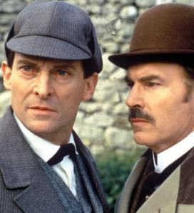 Brett and Burke as the detective and the doctor