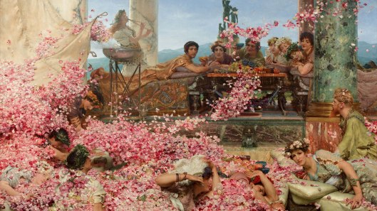 The Roses of Heliogabalus by Alma Tadema, 1888, Wiki, Commons